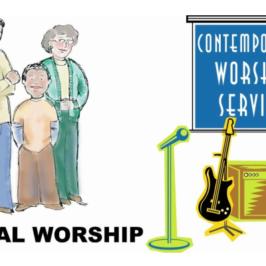 Casual & Contemporary Worship
